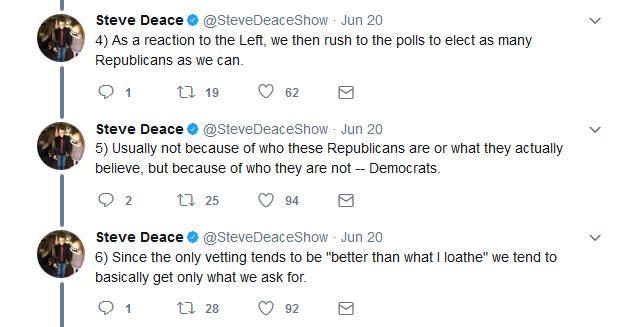 Steve Deace Tweetstorm